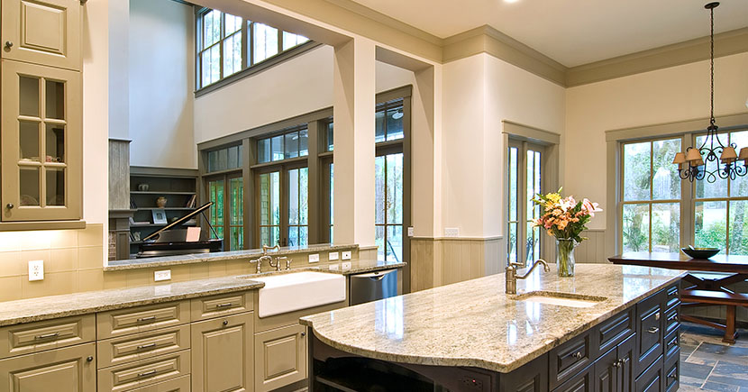 Difference between fake and real granite countertops